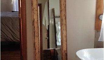 Herringbone Floor Mirror