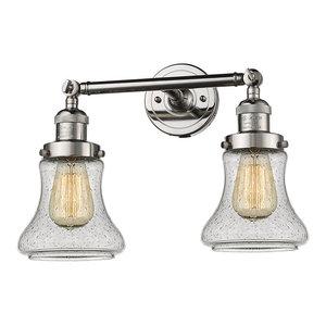"Innovations Lighting 208 Bellmont Bellmont 2 Light 17"" Wide Bathroom Vanity Lig"