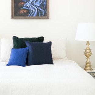 Inspiration for a craftsman bedroom remodel in Los Angeles