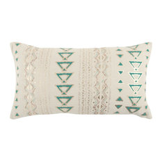 "Rizzy Home 14""x26"" Pillow"