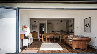 Simple contemporary extension.