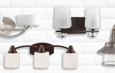 Should Bathroom Vanity Lights Go Up Or Down how wide should vanity light be? two-light or three-light?