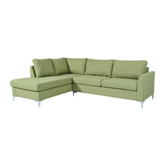 Shop Top Rated Green Sectional Sofas Houzz