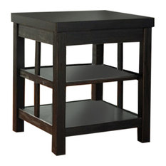 Ashley Furniture Express Ashley Square End Table Gavelston Rubbed Black  Side Tables AndAshley Furniture Laflorn Chairside End Table   creditrestore us. Ashley Furniture Laflorn Chairside End Table. Home Design Ideas