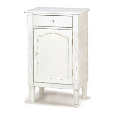 Accent Plus - Graceful Antiqued Cabinet - Accent Chests and Cabinets