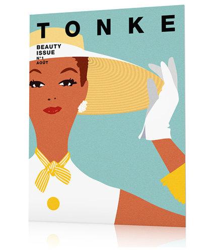 Affiche vintage femme - Imprimé et Poster