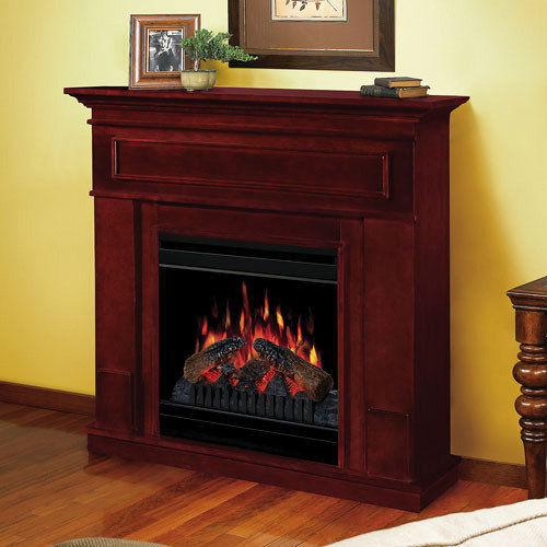 Dimplex - Kentwood Cherry Electric Fireplace Mantel Package - CFP3652C -  Indoor Fireplaces - Electric Fireplace Mantel Packages
