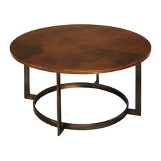 cala hammered coffee table | houzz
