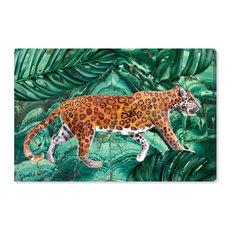 """Cougar Jungle"" Canvas Art Print, 90x60 cm"