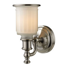 Acadia 1-Light Bath, Brushed Nickel