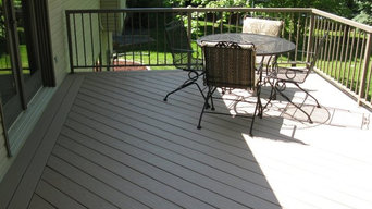 Azek Decking and Aluminum Railing