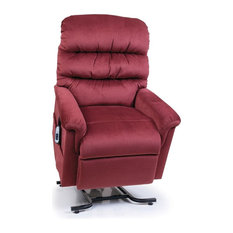 UltraComfort UC542-L Large (375#) Montage Recliner Lift Chair, Ruby