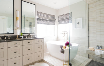 Bathroom of the Week: Contemporary and Classic in a Master Bath