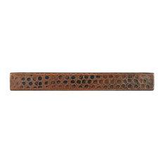 """Hammered Copper Tile, 1""""x8"""", Single"""