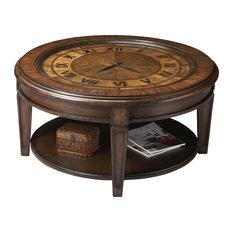Analog Clock Clock Coffee TablesHouzz