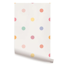 pink polka dot wallpaper ireland