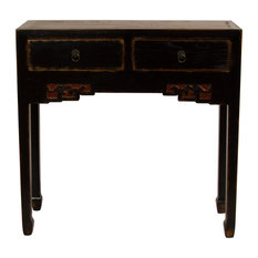 Traditional Chinese Console Table From Reclaimed Wood
