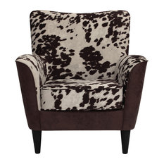 Naples Grande   Rex Lounge Chair, Two Tone Cow Print   Armchairs And Accent  Chairs