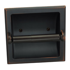 Recessed Toilet Paper / Toilet Tissue Holder, Oil Rubbed Bronze