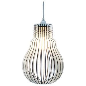 DIY Hellene Cage Lamp, White