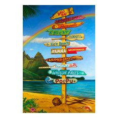 """Gicl̩e' Kauai Highs', 40""""x60"""""""
