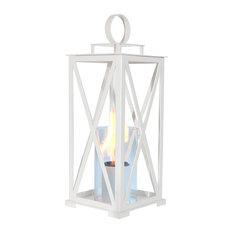 Kentucky Lantern, White, Medium