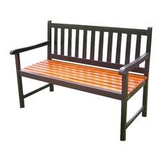 Highland 48-inch Acacia Garden Bench