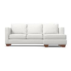 Catalina Reversible Chaise Sofa, Snowfall
