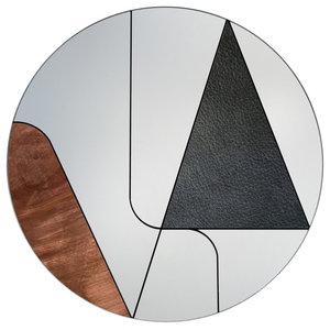 Itinera Wall Mirror, Copper, 80 cm