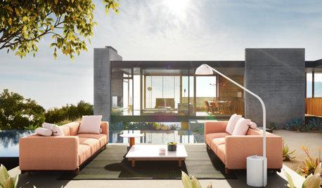 4 tendencias en iluminación y mobiliario de exterior para 2020