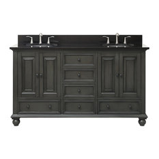 61 Inch Double Sink Bathroom Vanities Houzz