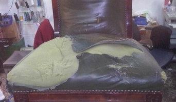 Restauración total silla antigua de muelles