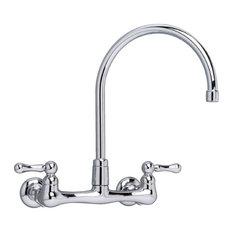 American Standard 7293.152.002 Heritage Wall-Mounted Gooseneck Faucet, Chrome