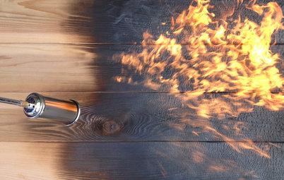 Focus Matière : Le bois brûlé ou la force primaire du feu