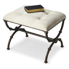 Butler Specialty Company - Edita Metal Stool Gray - Footstools and Ottomans  sc 1 st  Houzz & Metal Footstools u0026 Ottomans   Houzz islam-shia.org