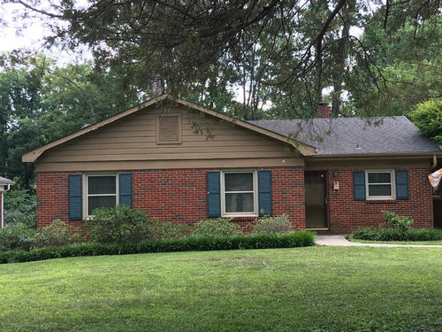 Can T Decide On Siding Color On Brick Ranch Opinions Needed