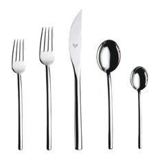 mepra ideas for living due utensil set flatware and silverware sets