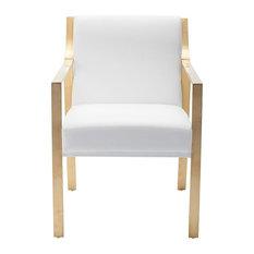 Sancia White Dining Chair