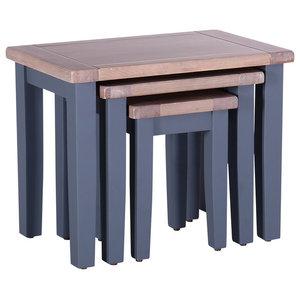 Nesting Tables, Set of 3, Dark Grey