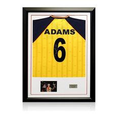 Framed Tony Adams Signed Arsenal Shirt