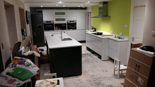 Flooring advice for kitchen and living space