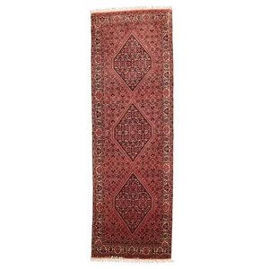 Bijar Tekab Rug, Oriental Carpet, Hand-Knotted, 223x75 cm
