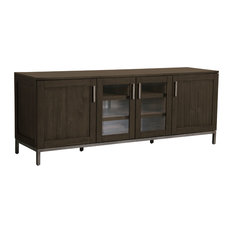 Liberty Wood Media Console Brown