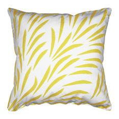 Ocott - Brisk Cushion Cover, Yellow - Bed Cushions