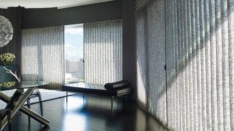 Hunter Douglas Vignette® Traversed™ with Vertiglide™ Shades