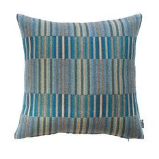 Reeds Merino Lambswool Cushion, Turquoise