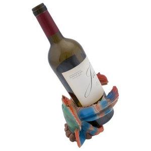 Beachcombers Blue Crab Wine Bottle Holder