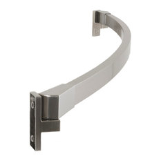 """'Preferred Bath Accessories - 60"""" Curved Fixed Shower Curtain Rod, Brushed Nickel, Brushed Nickel Finish - Shower Curtain Rods' from the web at 'https://st.hzcdn.com/fimgs/8ab16b6008b5f213_8224-w233-h233-b1-p10--.jpg'"""
