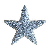 Clear Crystal Starfish Drawer Knobs