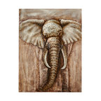 Luxe Home Decorators Elephant Hamper Tan Hampers Houzz